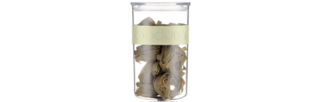 PRESSO STORAGE JAR, PALE GREEN COLOUR, 0.6 LT - B0411828-339