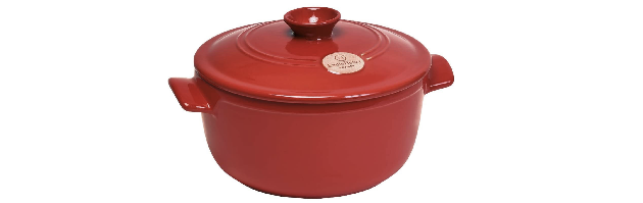 FLAME, GRENADE/RED, STEW POT D:32 CM - E01344570