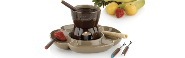"CHOCOLATE FONDUE ""FIORE"" 7-PCS - M0212423"