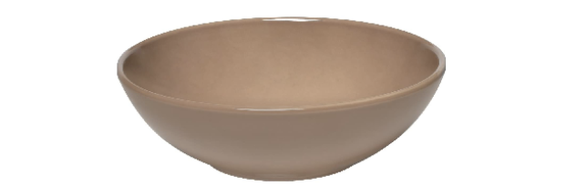 LIGHT BROWN SMALL SALAD BOWL D:21 CM - E01962122