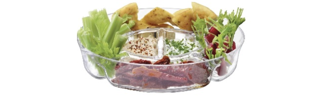 SERVE CIRCLE PLATTER CLEAR 35 CM - L05G97335301