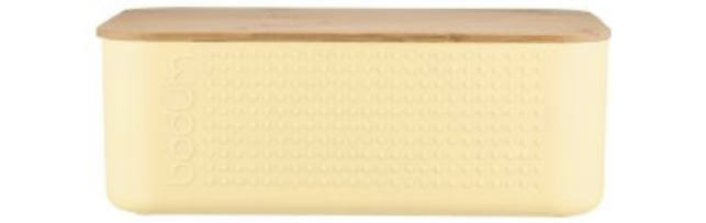 BISTRO BREAD BOX, PALE YELLOW COLOUR - B0411555-341