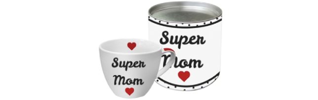 "BIG MUG - GIFT BOXED  ""SUPER MOM"" - P02603067"