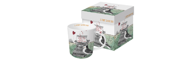 "TREND MUG - GIFT BOX ""JUST LOVE YOU"" - P02603811"