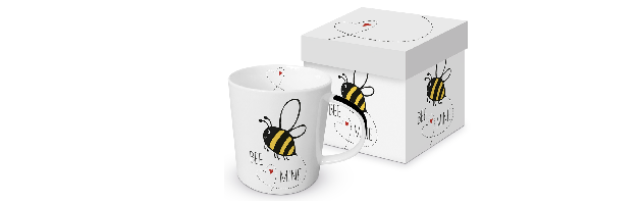 "TREND MUG - GIFT BOX ""BEE MINE"" - P02603937"