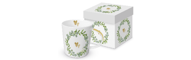 "TREND MUG - GIFT BOX ""TWO HEARTS"" - P02603930"