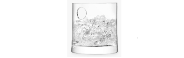 GIN ICE BUCKET CLEAR H:14 CM - L05G139014200
