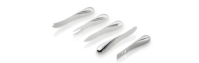 """CHEESE KNIFE SET, 5-PCS """"SPACE"""" - P06216005"""