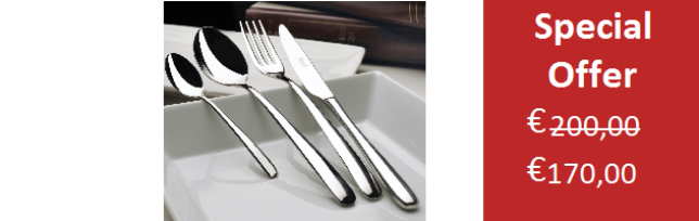 MODEL STYLE,12 PERSONS  CUTLERY SET - 72 PIECES - S11CL72ST