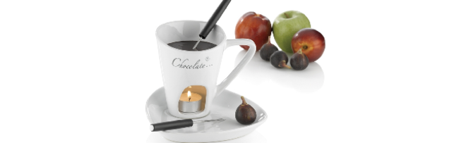 "CHOCOLATE FONDUE ""ALICIA"" 4-PCS - M0212426"