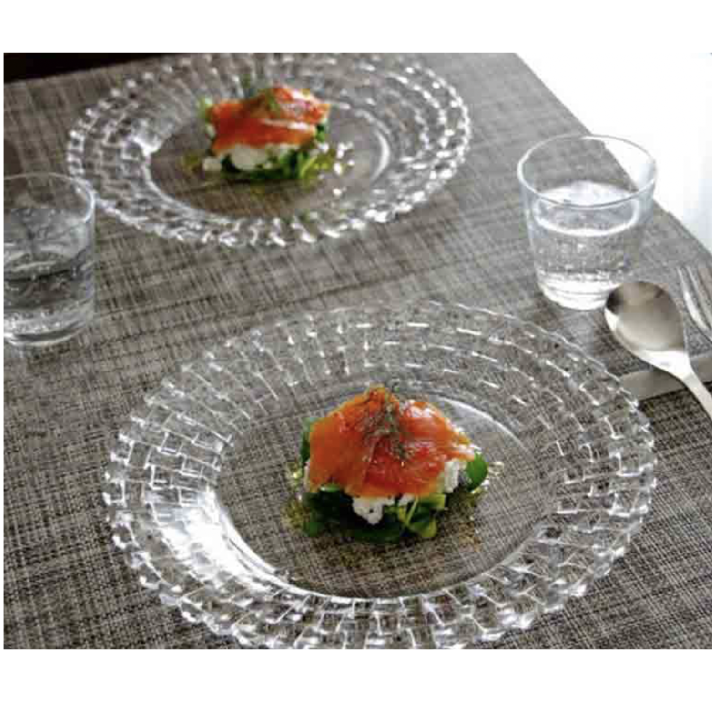 "SET OF 2 PLATES LARGE ""BOSSA NOVA"" D:32 CM - N02093511"