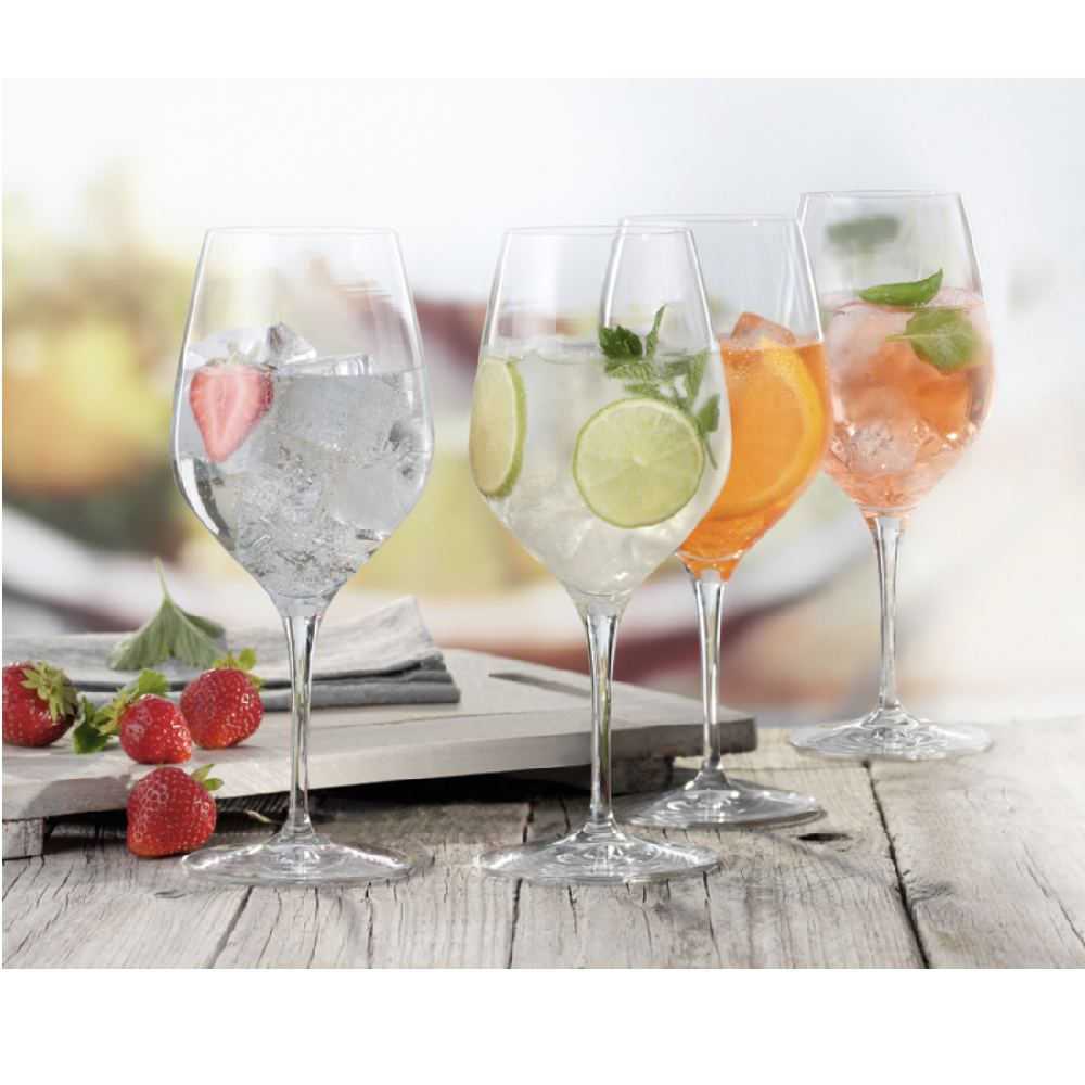SET OF 6 WINE GLASSES  - S074401785