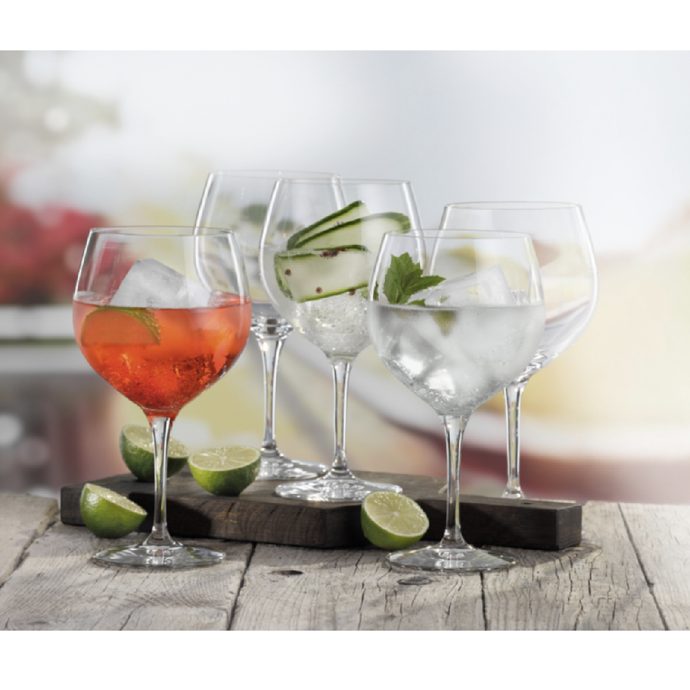 SET OF 6 GIN & TONIC GLASSES - S074391780