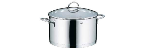 "COVERED SAUCE POT ""CAILIN"" 6 LT, D:24 CM, H:14 CM - M0210960"