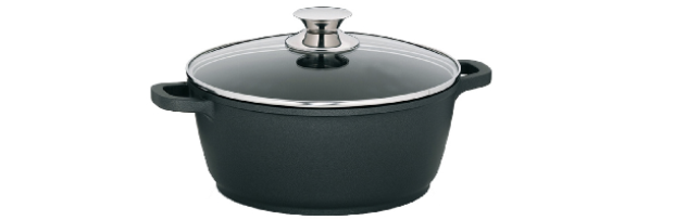 "COVERED SAUCEPOT ""KERROS"" D:24 CM, 3.2 LT -  M0211552"