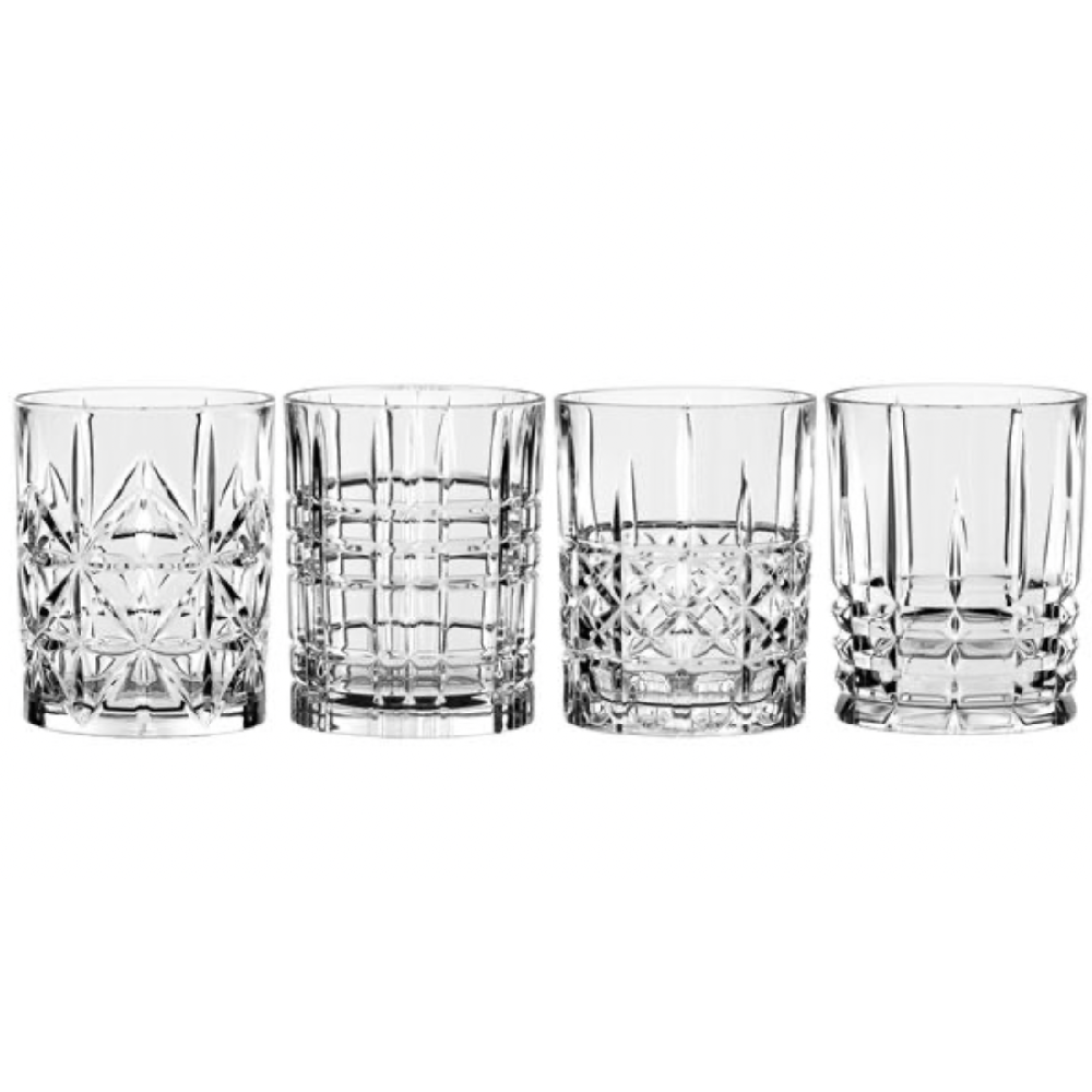 "SET OF 4 WHISKY TUMBLERS ""HIGHLAND"" - N02095906"