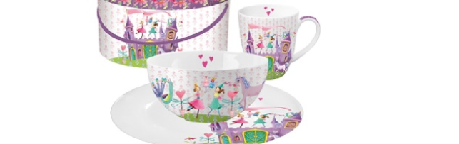 "BREAKFAST SET GIFT BOX ""PRINCESS CASTLE' - P02602508"