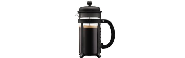 JAVA FRENCH PRESS COFFEE MAKER 8-CUP, BLACK, 1.0 LT - B041908-01