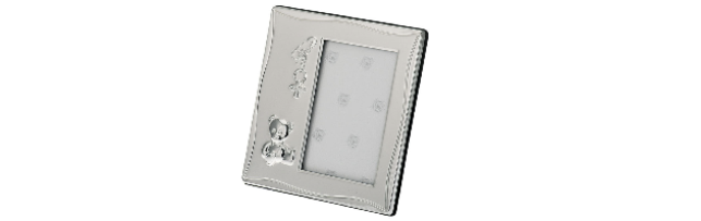 VARNISHED SILVER-PLATE PHOTO FRAME 7X10 CM - H073749