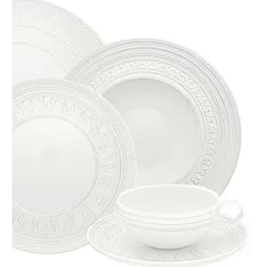 ORNAMENT PORCELAIN DINNER SET - 60 PIECES -  VISAL-ORNAM