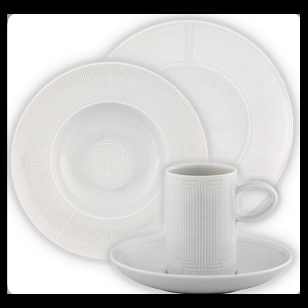 ETERNAL PORCELAIN DINNER SET - 60 PIECES -  VISAL-ETERNAL