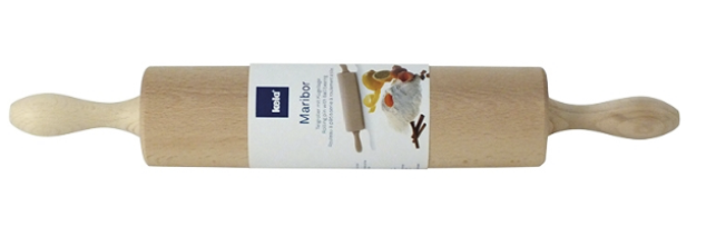 "WOODEN ROLLING PIN ""MARIBOR"" L:42 CM - M0217300"