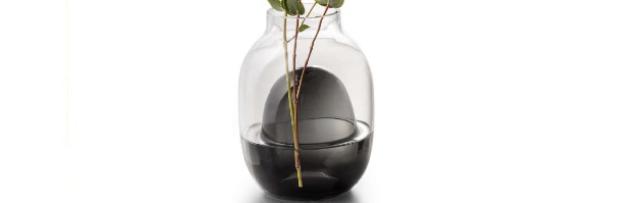 """VASE SMALL """"LOUISA"""", MOUTHBLOWN GLASS H:19 CM - P06166004"""