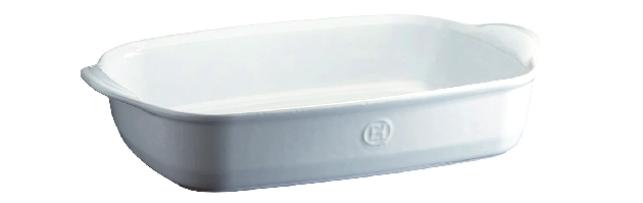 "RECTANG.BAKING DISH W.HANDLES ""ULTIME"", WHITE 42.5 X 28 CM - E01119654"