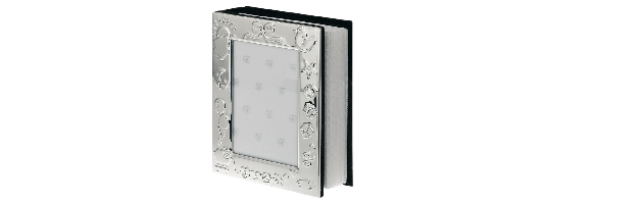 VARNISHED SILVER-PLATE PHOTO ALBUM - H073702
