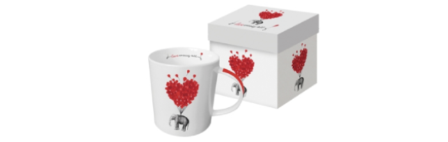"TREND MUG - GIFT BOX ""LOVE CARRIES ALL"" - P02603273"
