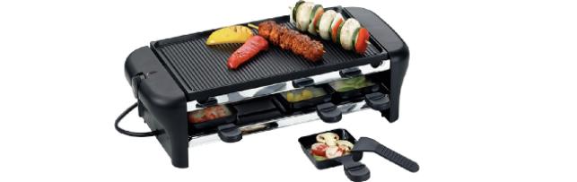 RACLETTE & BBQ CHALET 8 PANS - M0264002